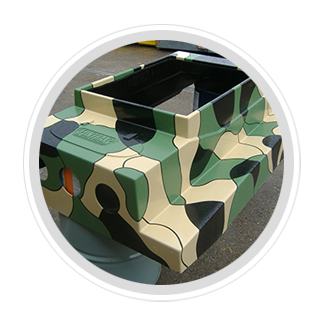 Paint Ball Vehicle